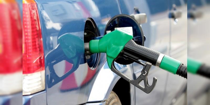 Gasolina Premium y Magna, en 18.27 y 16.51