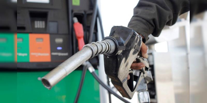 La gasolina, desde 16.54 hasta 18.29 pesos este martes