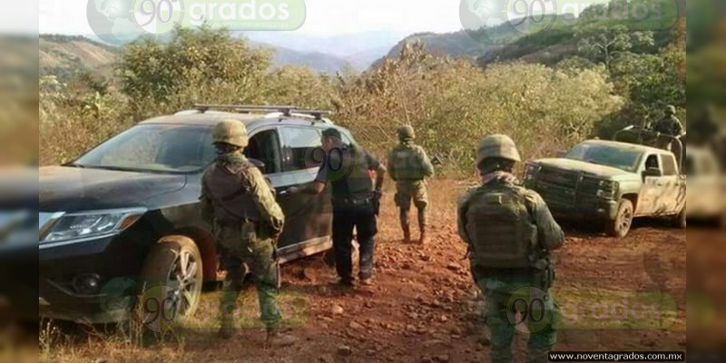 Apatzingán: Secuestro de persona ocasiona persecución y balacera