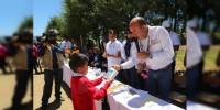 Realiza SEE acciones de equipamiento y mantenimiento escolar en Cenobio Moreno