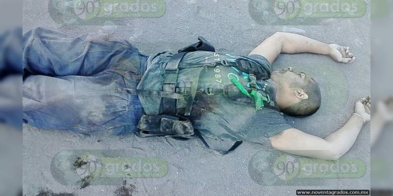 Un muerto deja balacera y bloqueo en Nueva Italia