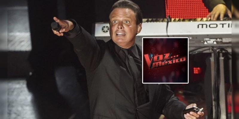 La Voz México quiere a Luis Miguel de coach