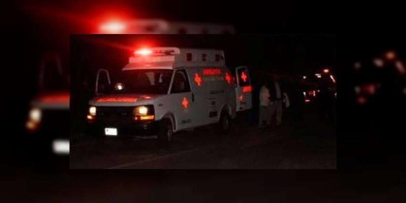 Morelia: Mueren dos jóvenes en accidente
