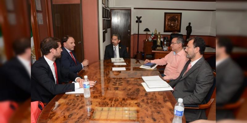 Buscarán UMSNH y España crear la Cátedra Vasco de Quiroga