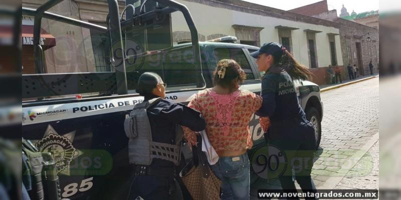 Detienen a dos de Antorcha Campesina por manifestarse frente al Ayuntamiento de Morelia