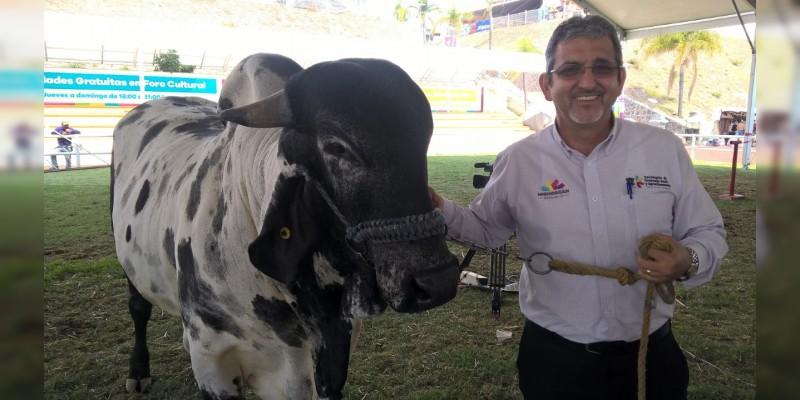 Rompe récord compra-venta de ganado en Expo Fiesta Michoacán 2017