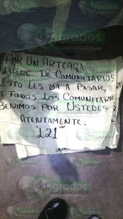 Sujeto asesinado en Arteaga no era parte de la Fuerza Rural: SSP Michoacán
