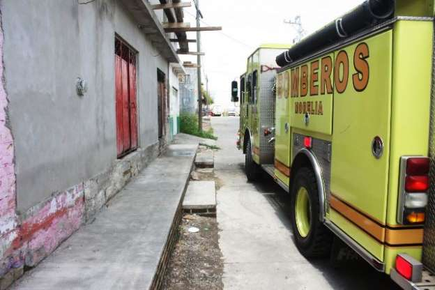 Flamazo en pollería deja dos personas lesionadas, en Morelia