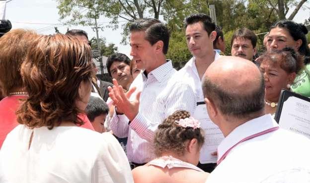 Reconoce Enrique Peña Nieto insuficiencia de programas sociales