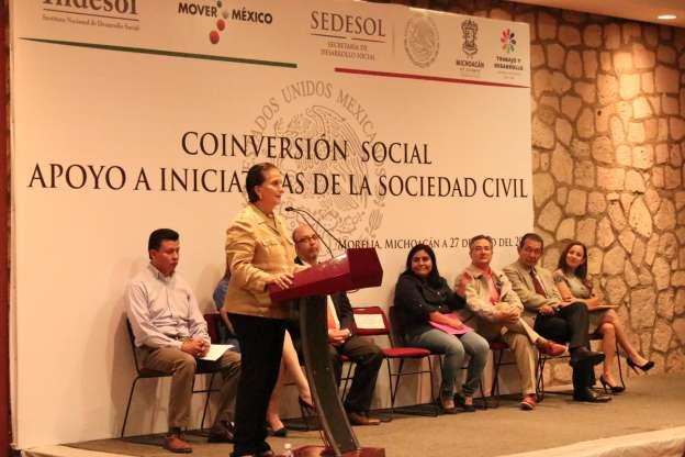 Entrega INDESOL recursos a 39 Organizaciones de la Sociedad Civil