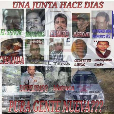 Dan a conocer supuesta reunión entre delincuentes en Michoacán
