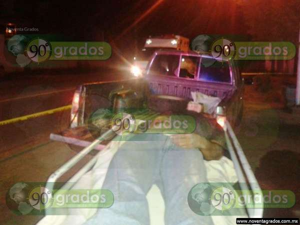 De un balazo, asesinan a sujeto en Huetamo, Michoacán