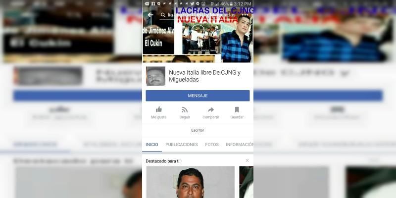 """El redes sociales habían señalado a """"Chano Peña"""" como responsable del """"levantón"""" de Adame"""