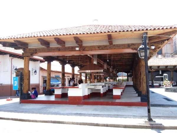 Mercado de Antojitos de Uruapan, Michoacán, a días de inaugurarse