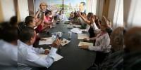 Impulsa gobierno más obra para educación  en Apatzingán