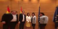 Destaca Luisa María Calderón labor de parlamentarios en la construcción de una alianza global hacia el #HambreCero