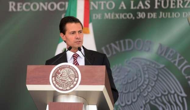 Toda la fuerza de la ley contra quienes amenacen a población: Peña Nieto