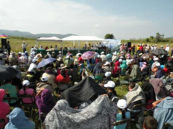 Reforestando 90 hectáreas conmemora la Conafor el Día del Árbol, en Michoacán