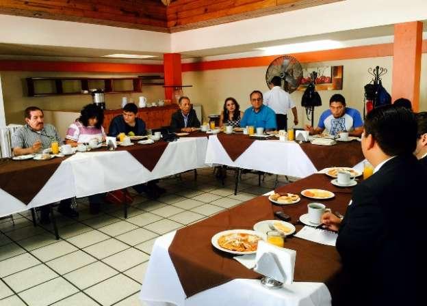 Acuerdan coordinación entre la Secretaría Ejecutiva del Consejo para el NSJP y el Colegio de Abogados Indígenas