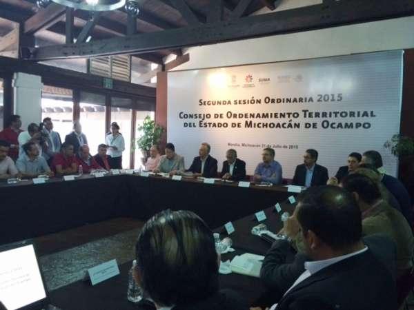 Michoacán, primera entidad con un programa de Ordenamiento Territorial