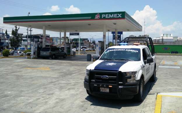 Asaltan gasolinera en la capital michoacana; hay un detenido