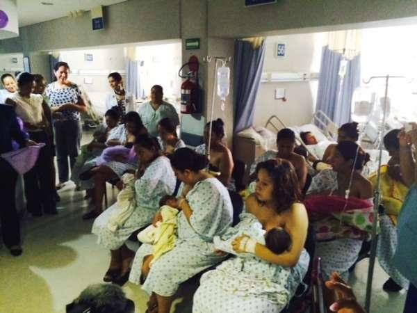 Promueven lactancia materna en el Hospital de la Mujer en Morelia