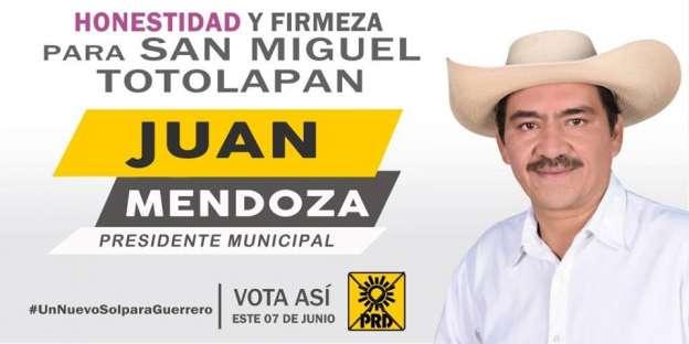 (Vídeo) Alcalde electo de San Miguel Totolapan, Guerrero, habría sido apoyado por la delincuencia organizada