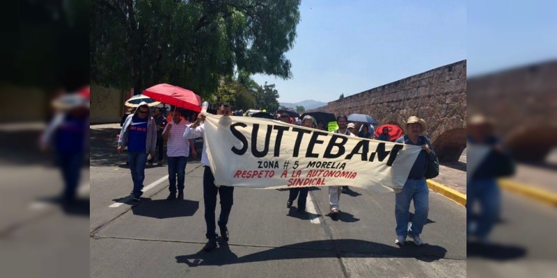 Celebra SUTTEBAM firma del contrato colectivo con Telebachillerato
