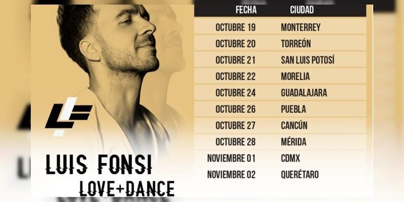 Luis Fonsi cantará DES-PA-CITO en Morelia