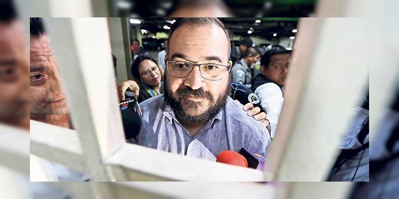 Javier Duarte comenzó huelga de hambre en el reclusorio Norte