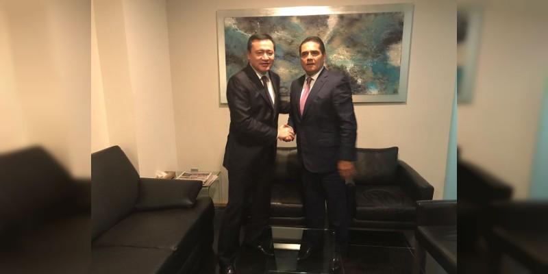 Federación y estado afinan estrategia conjunta de seguridad en Michoacán