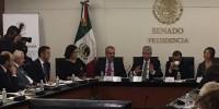 Gerardo Ruiz Esparza comparece ante el Congreso por socavón en Paso Exprés