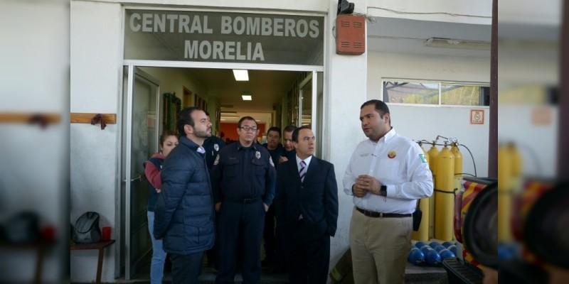 Después de dos años, comienza la buena relación entre la administración independiente y los bomberos municipales
