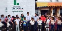 Inaugura LICONSA lecherías en Susupuato y Contepec
