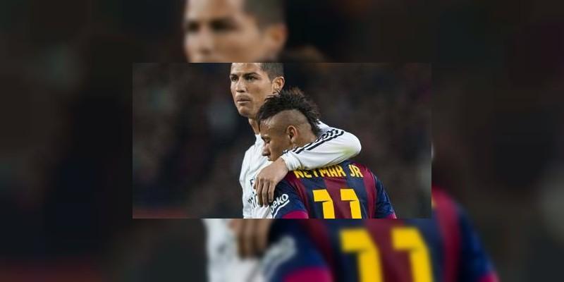 Cristiano Ronaldo y Neymar muestran su apoyo a México