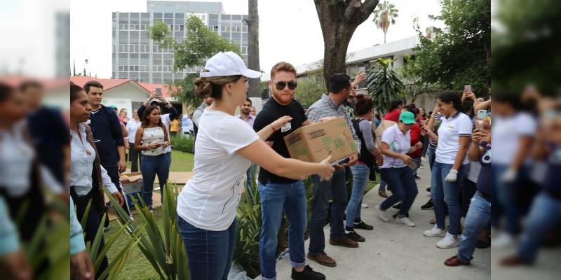 El Canelo Álvarez se solidariza con Mexico y dona más de 17 millones de pesos