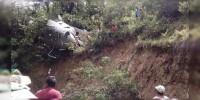 Se desploma helicóptero federal con víveres en Oaxaca