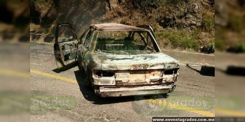 Identifican a incinerado dentro de vehículo en Celaya