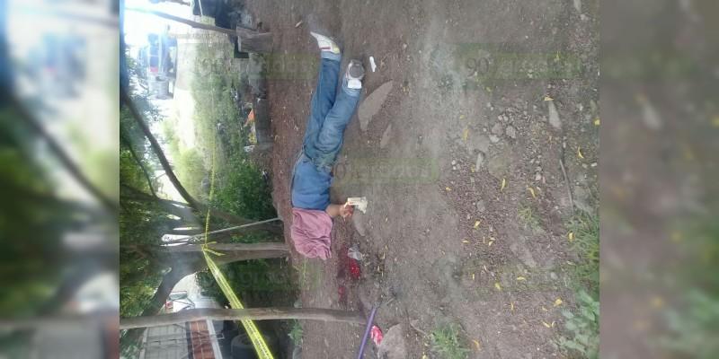 Ejecutan a un ex Autodefensa en Buenavista, Michoacán