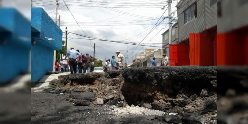 Vialidades cerradas por trabajos después del sismo en la CDMX