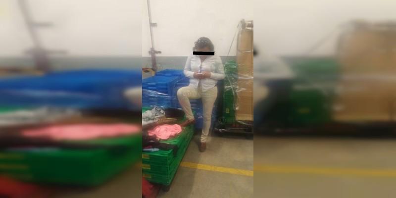 Detienen a mujer que robaba en Liverpool  Espacio Las Américas en Morelia