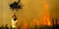 Dos muertos por los fuertes incendios en Galicia
