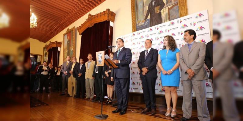 Silvano Aureoles anunció 13 cambios en las diversas dependencias gubernamentales