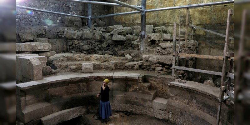 """Arqueólogos encuentran el """"Misterioso Teatro Perdido de Jerusalén"""""""