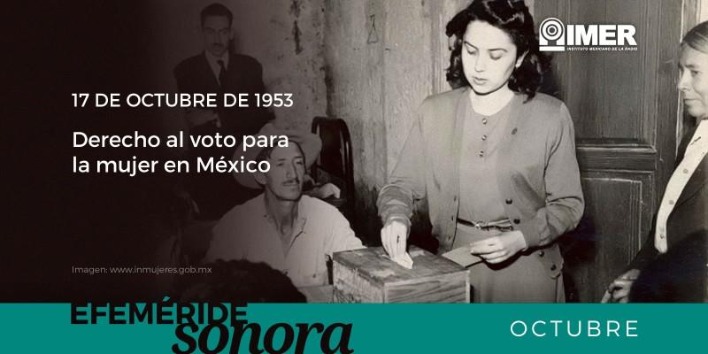 Hoy se conmemora un d a m s del derecho al voto para la for Espectaculos del dia de hoy en mexico