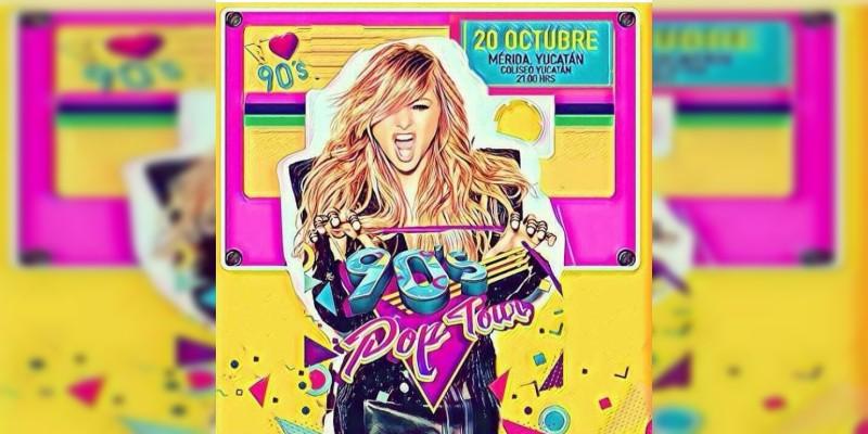 Paulina Rubio podría integrarse a los 90s Pop Tour de Ari Borovoy