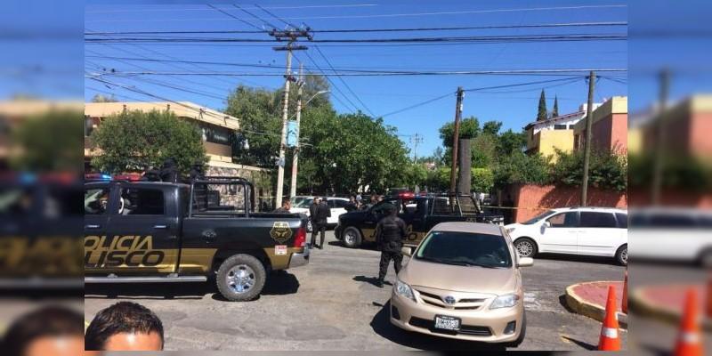 Balacera en Guadalajara deja tres detenidos