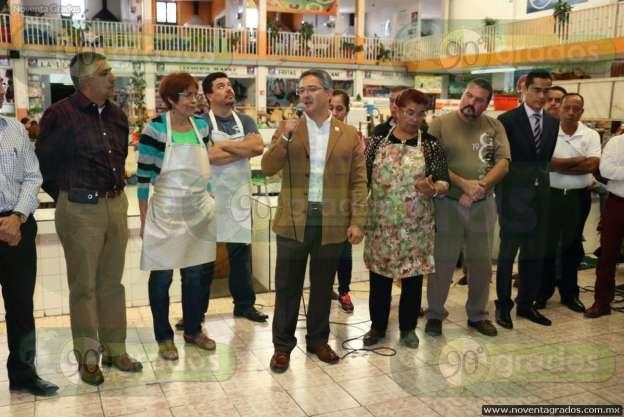 Invierten once millones de pesos para remodelación de mercado Nicolás Bravo, en Morelia