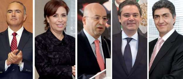 Filtran los posibles cambios en el gabinete de Enrique Peña Nieto