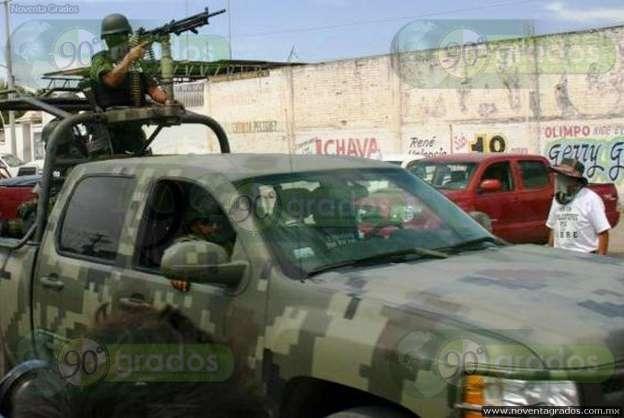 Tras balacera, federales implementan operativo en Los Reyes, Michoacán